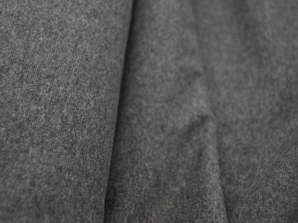 Leichtes Bündchen Grau Meliert 50cm im