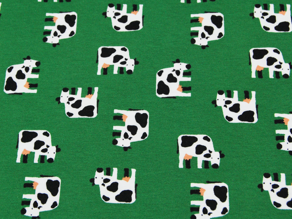 Jersey - Kühe auf Grün -