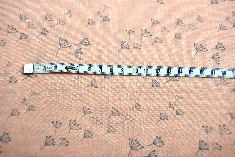 Delfi Digitaldruck - Leinen - Pusteblume 0,5m