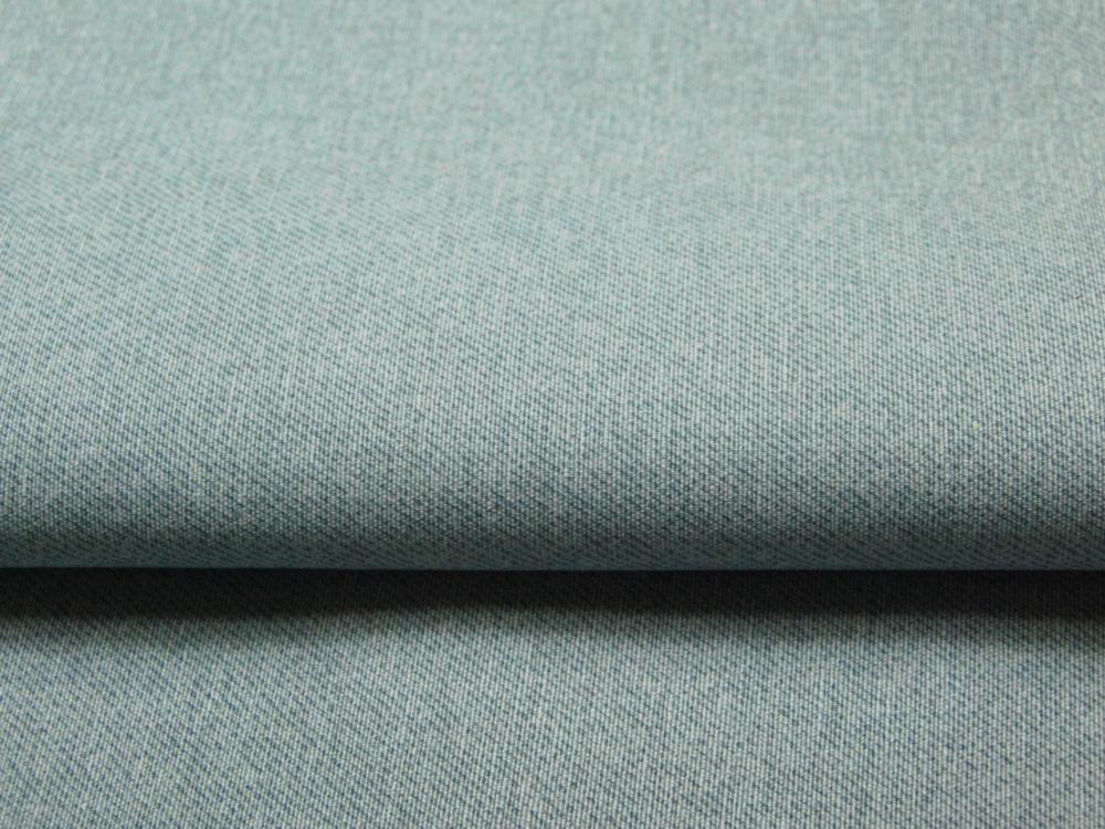 Beschichtete Baumwolle - Meliert Türkis 50x70 cm - 1