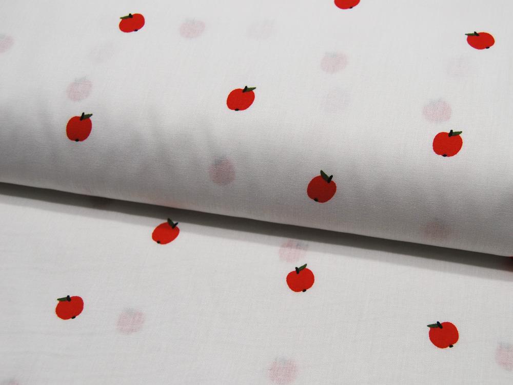 Jacquard-Jersey - Chevron - weiß/schwarz -
