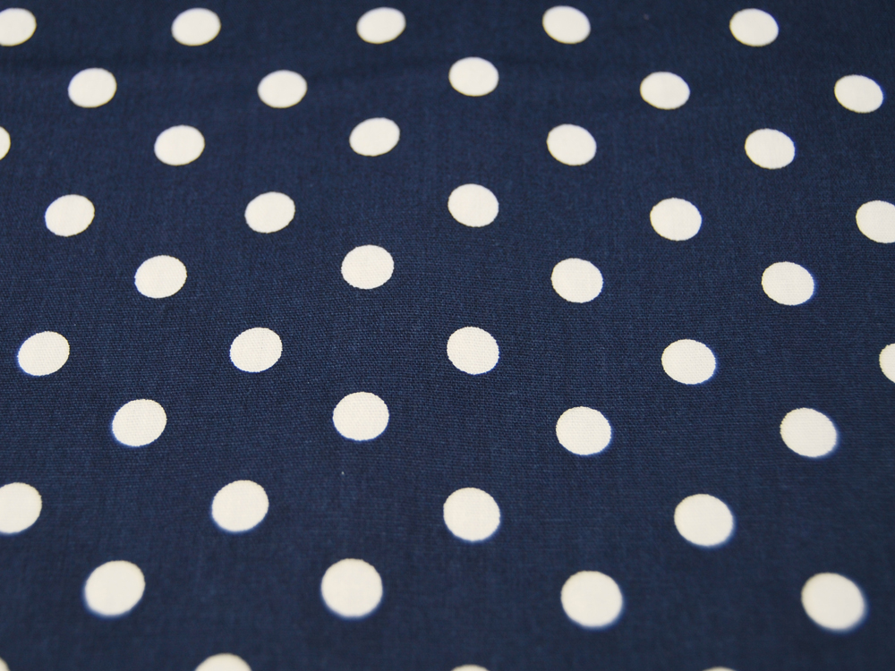 Baumwolle - Charming Dots - Rot auf Hellgrau 0,5m - 2