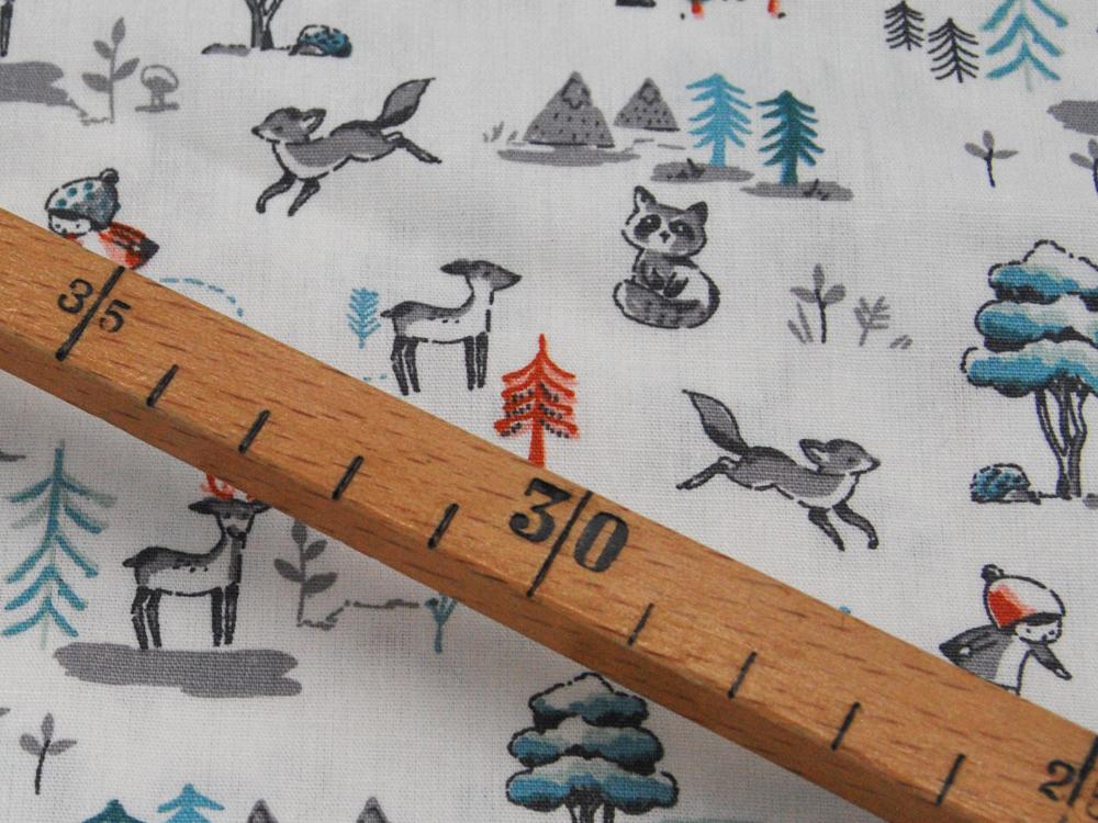 Baumwolle FOREST LIVING Niedliche Baumwolle 05m