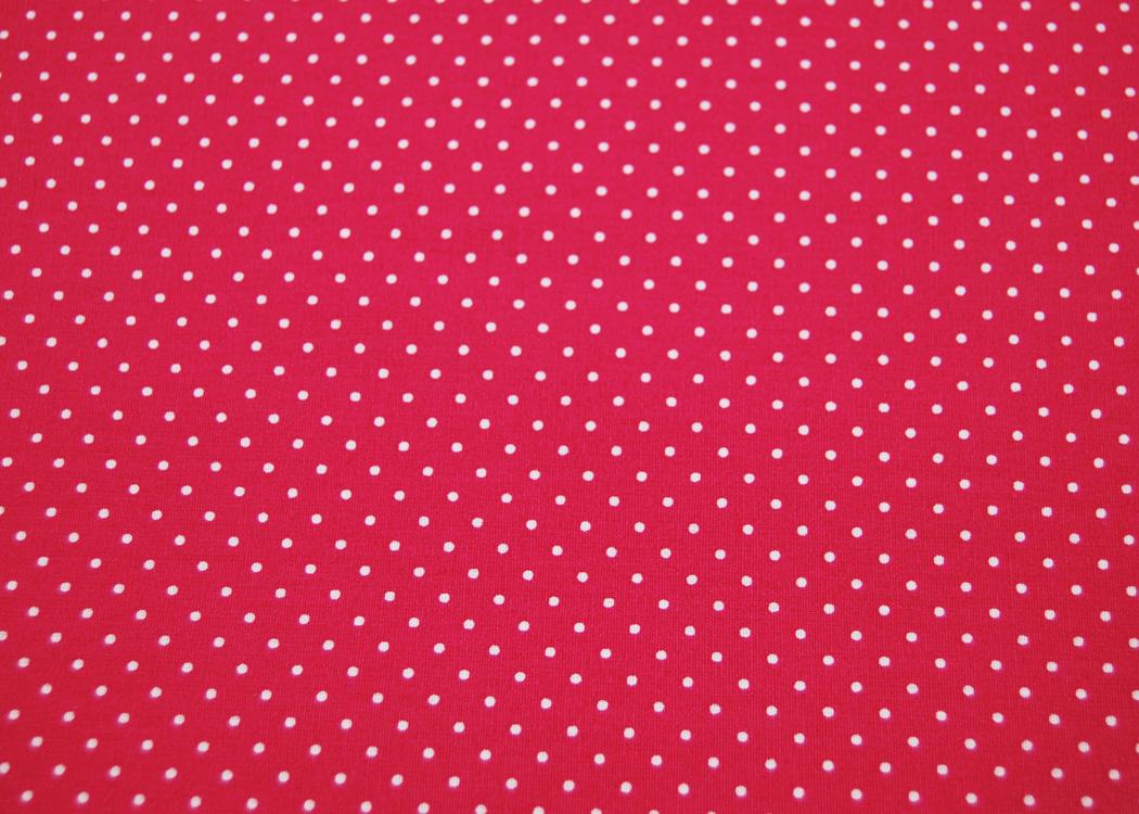 Beschichtete Baumwolle Petit Dots auf Pink
