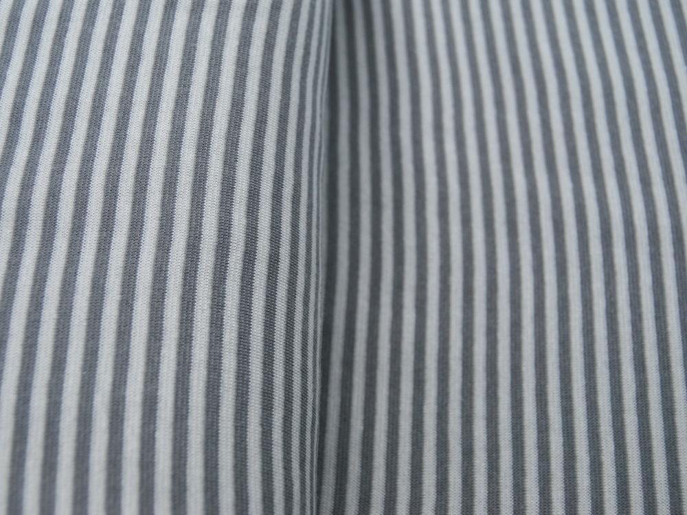 Bündchen Ringelbündchen Silber Grau cm im