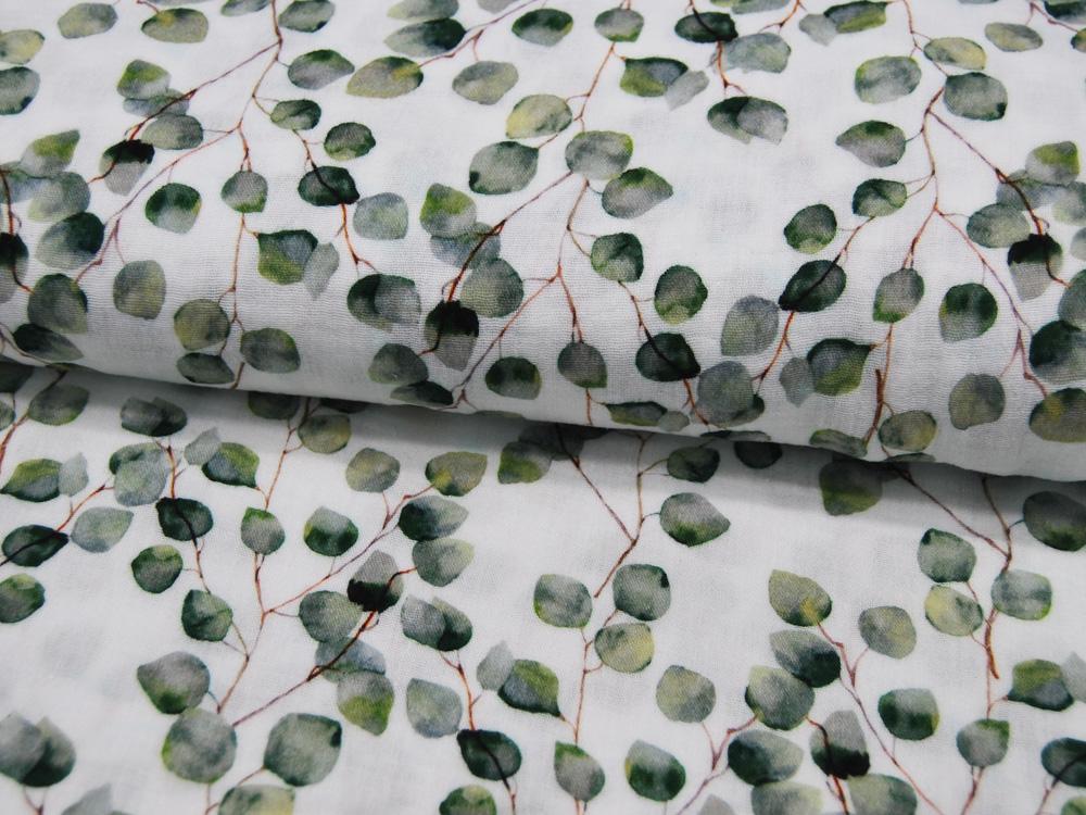 Musselin/Double Gauze - GOTS - Eucalyptus
