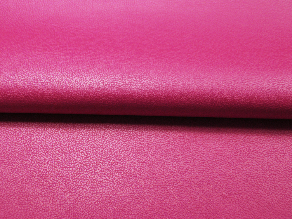 Kunstleder in Pink Metallic - 05