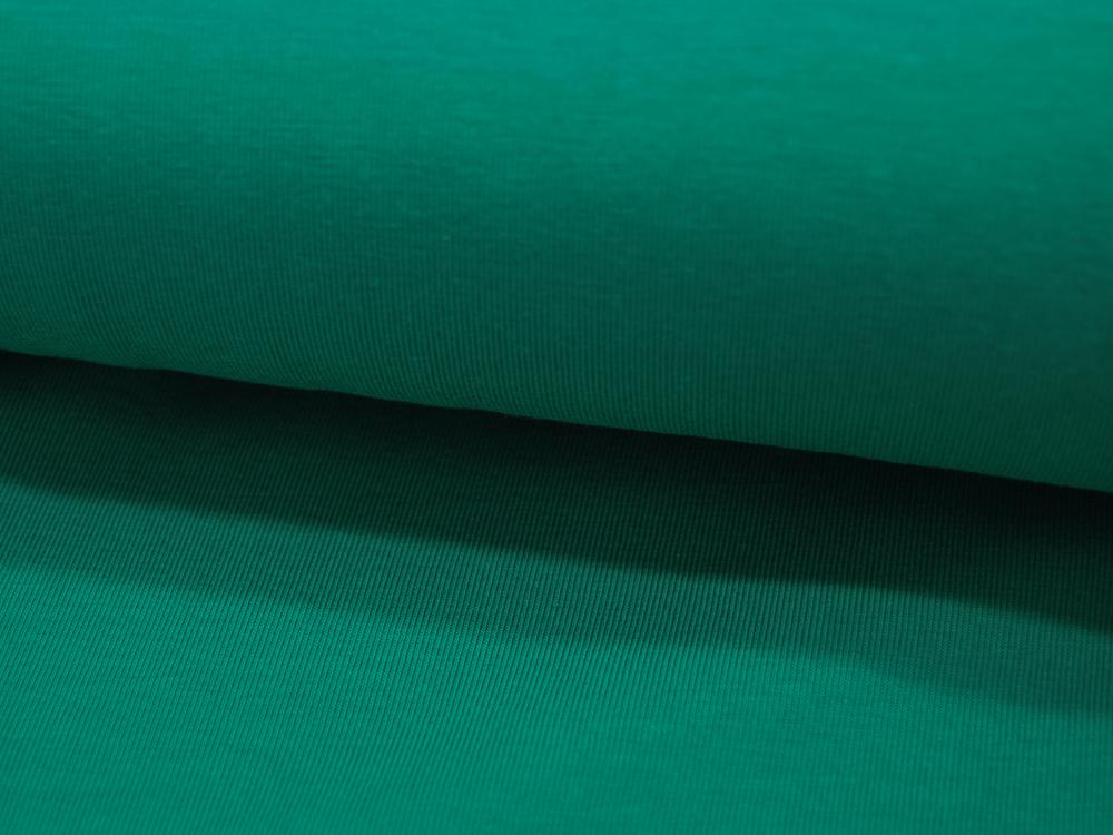 Jersey - GOTS - Uni: Grün