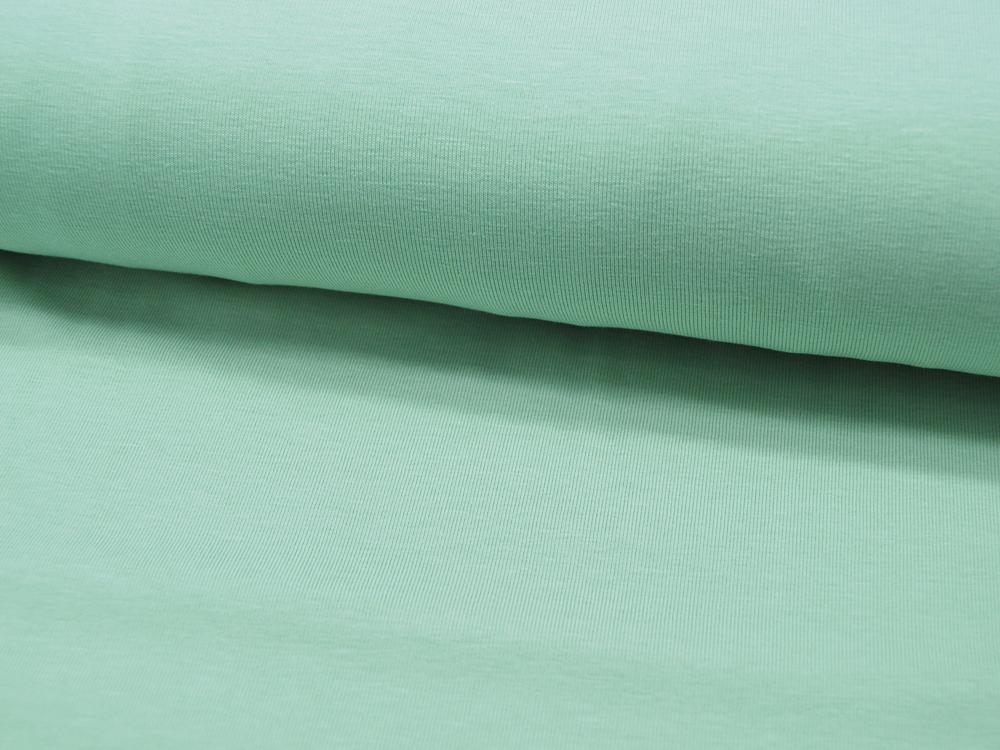 Jersey GOTS Uni: Hellgrün Light Green