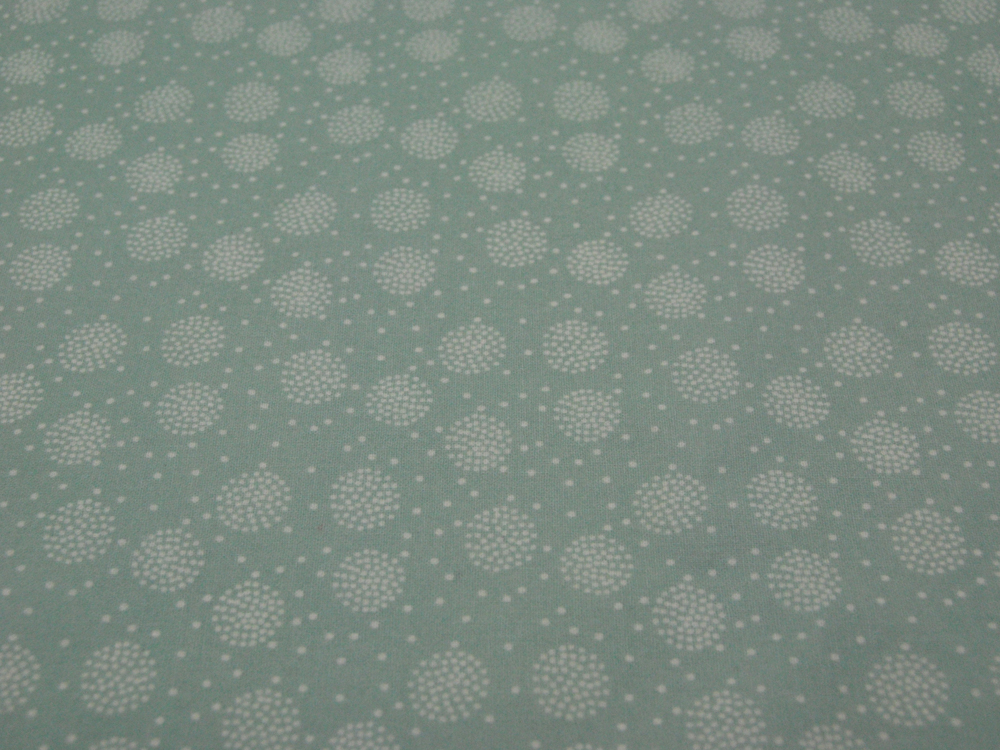 Beschichtete Baumwolle - Pusteblume Mint 50x69cm