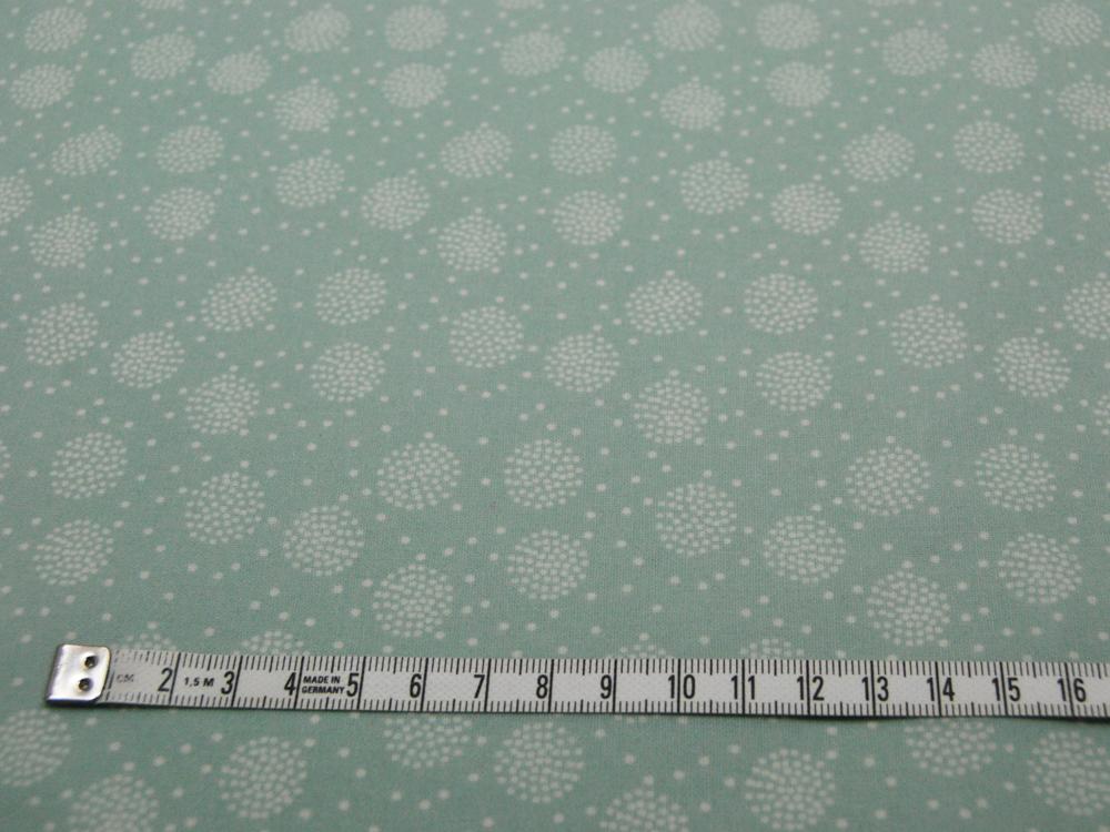 Beschichtete Baumwolle - Pusteblume Mint 50x69cm - 2