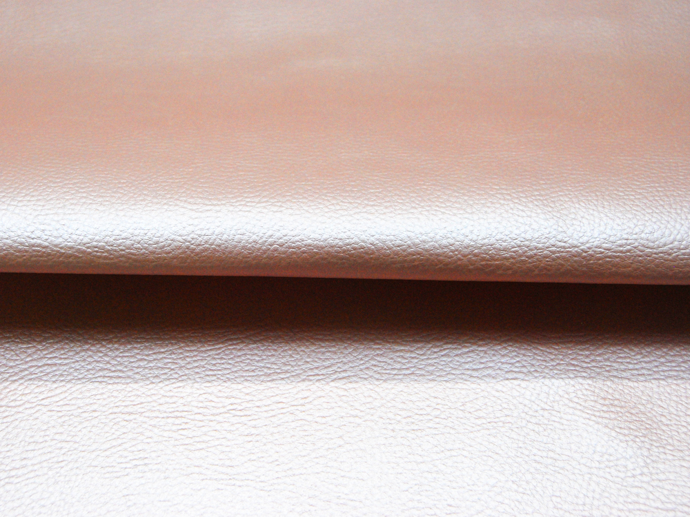 Kunstleder in Hellrosa Metallic - 0,5 Meter - 1