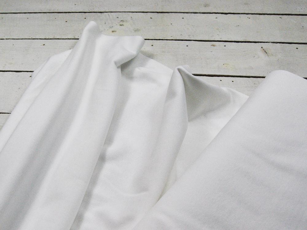 Leichtes Bündchen Weiß cm im Schlauch