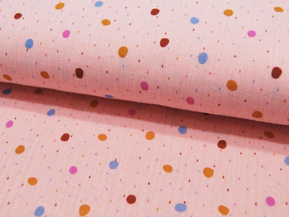 Beschichtete Baumwolle - Große Mandalas auf Matt Türkis 50 x75 cm - 2