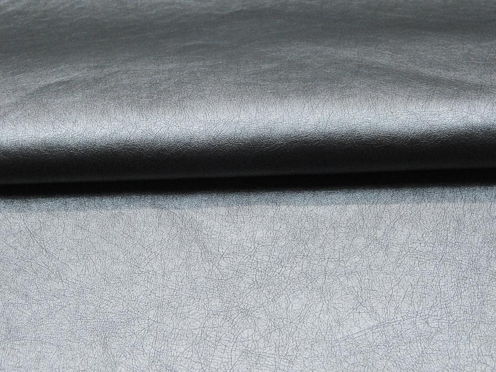 Weiches Kunstleder in Silber - 05