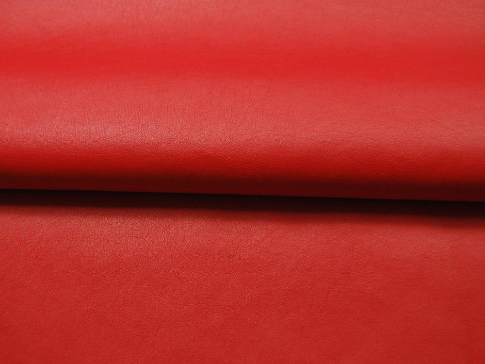 Weiches Kunstleder in Rot - 05