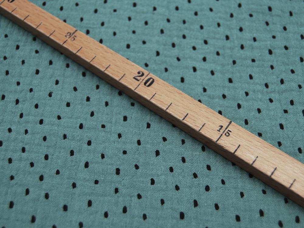 Jersey - Streifen Nachtblau-Hellblau - 0.5 Meter