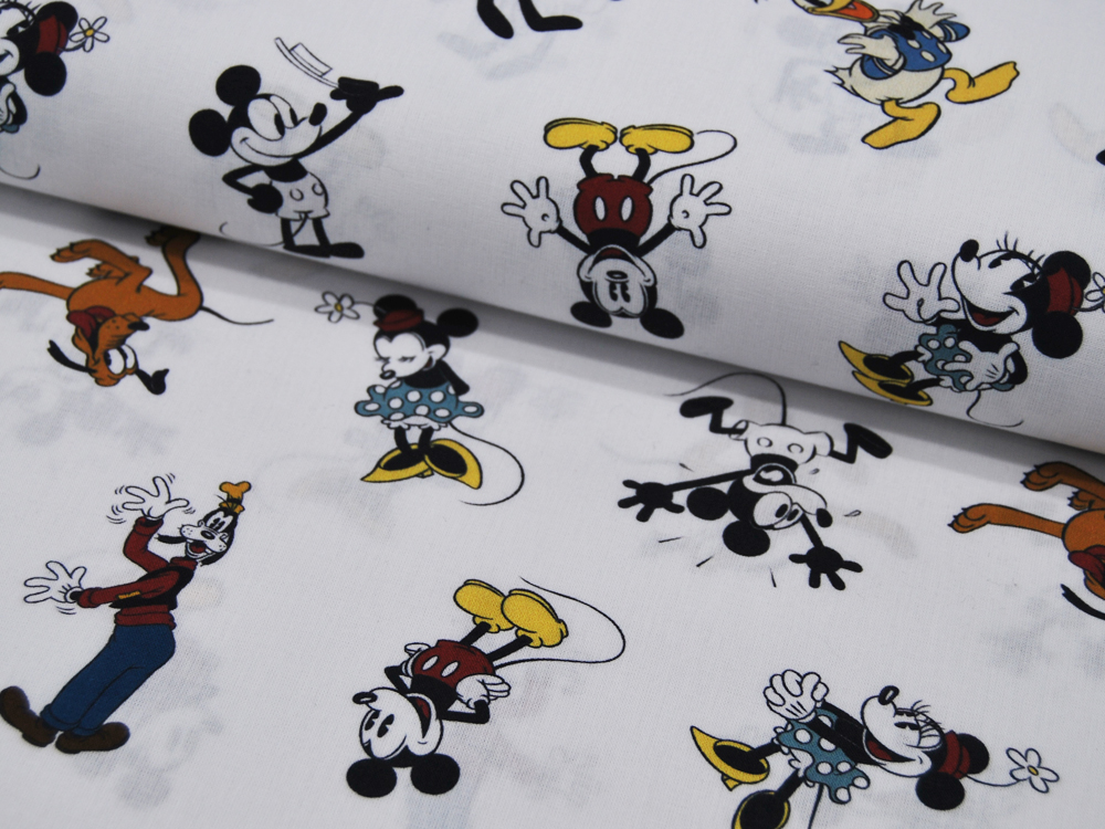 Baumwolle Mickey Mouse Minnie Mouse Pluto