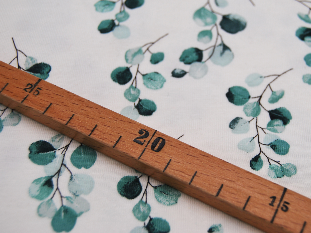 Jersey - Flowers - Eukalyptus -