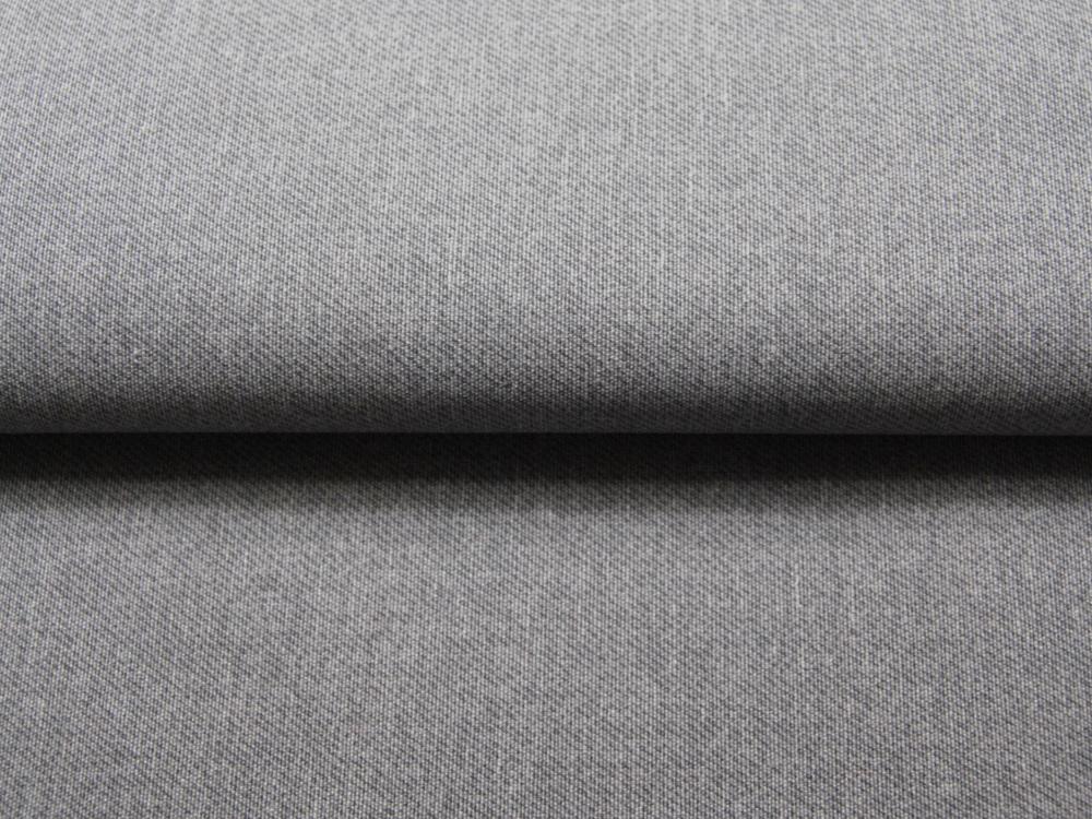 Beschichtete Baumwolle - Meliert GRAU 50x70 cm - 1