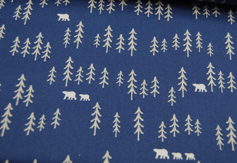 Bären und Bäume auf Blau Copenhagen