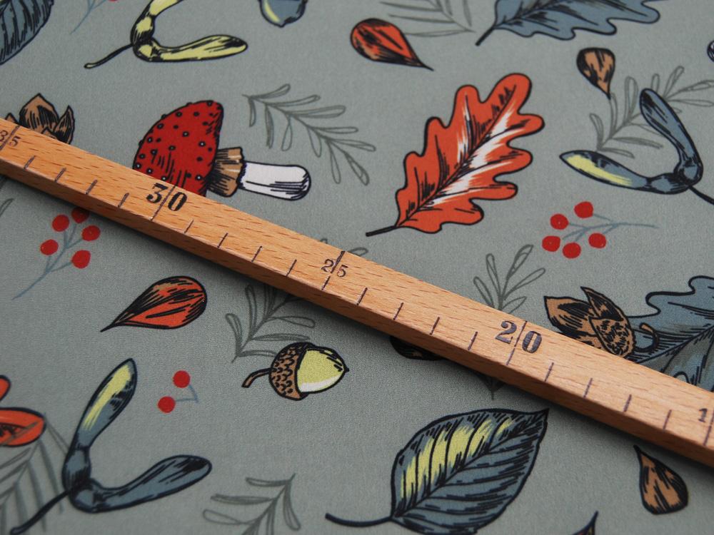 Softshell Fall Herbst Dusty Mint Meter