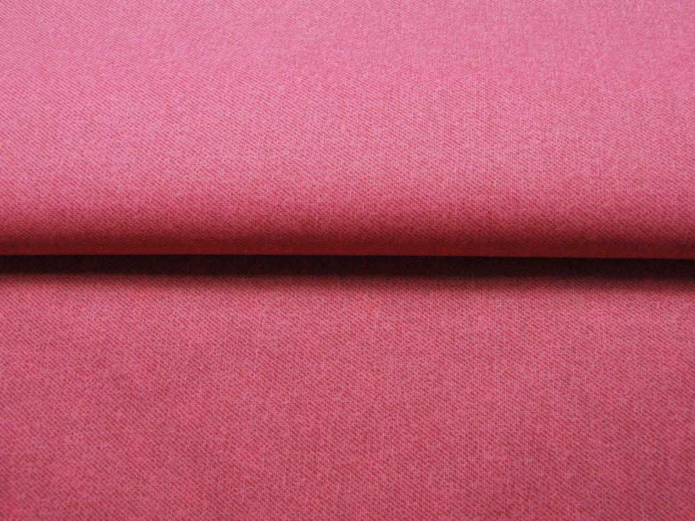 Beschichtete Baumwolle - Meliert ROSA 50x70 cm - 1