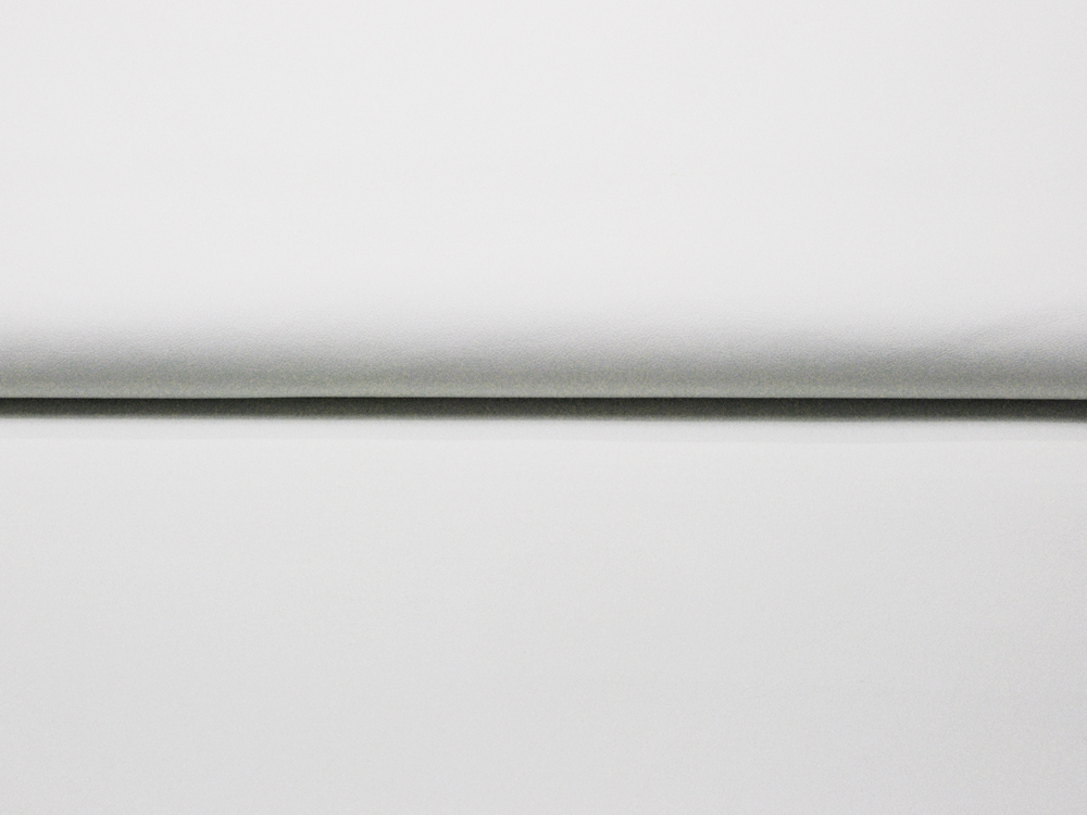 Weiches Kunstleder in Ecru - 0,5 Meter - 1