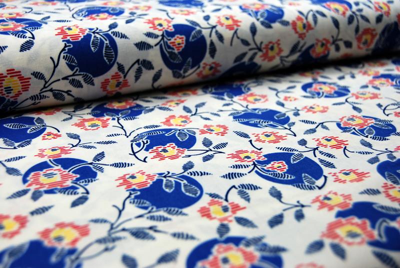 Betty Dear - Blumen Muster 0,5 m - 1