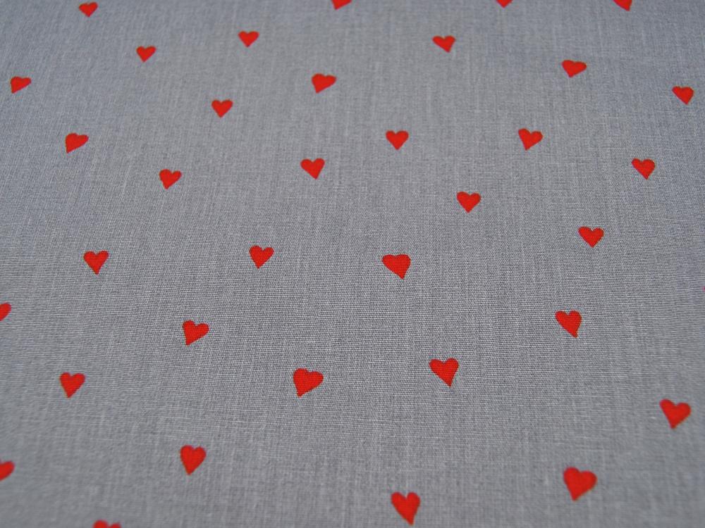 You re Sweetheart Rote Herzen auf Grau