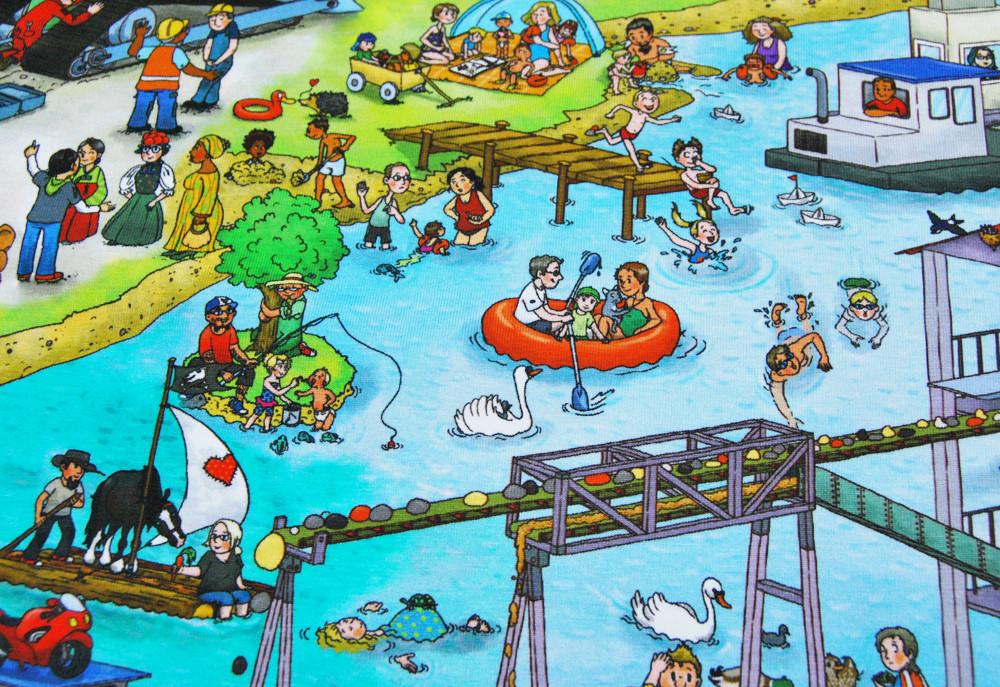 Jersey - Hafen Baustelle Motive -