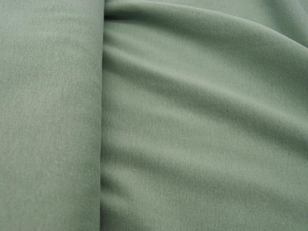 Leichtes Bündchen Olivgrün Helles Grün cm