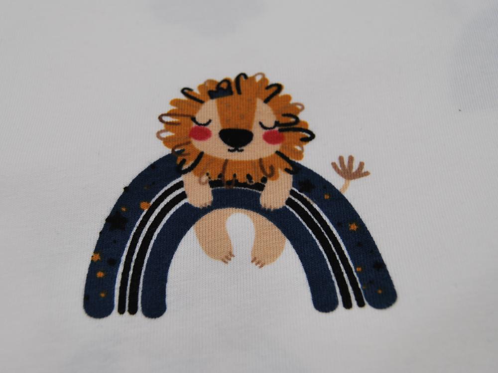Jersey Schlafende Löwen auf blauen Bogen