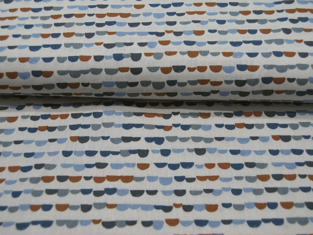Baumwolle Pebbles Graphisches Muster Auf Sand