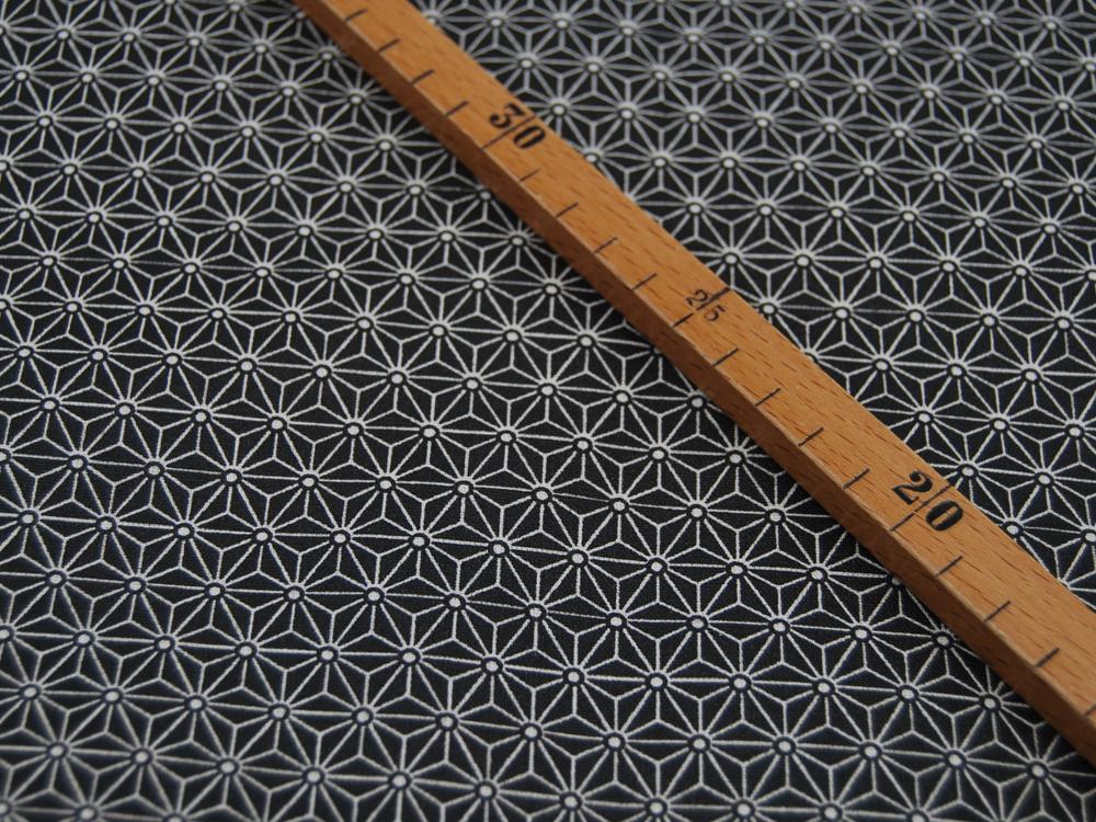 Baumwolle - Anker und Herzen auf Weiß 0,5m - 2