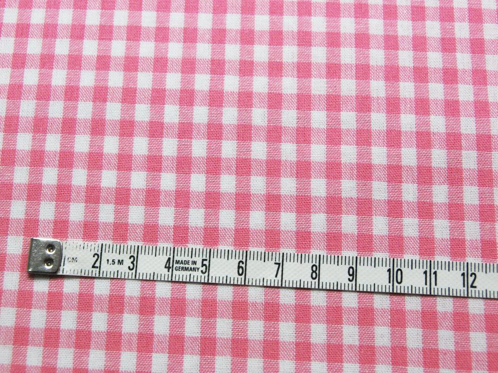 Karo in Rosa - Baumwolle 0,5 Meter - 2