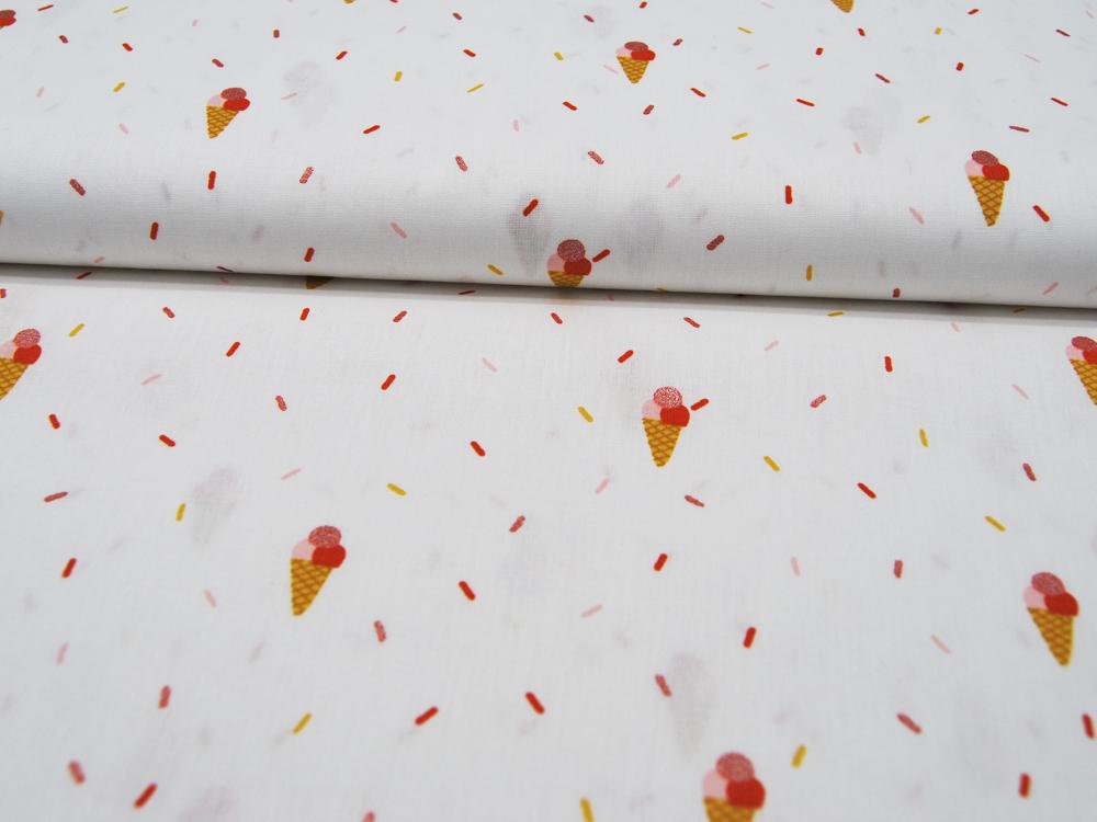 Cosmo - niedliche gruene Eulen Baumwolle 0 5 Meter