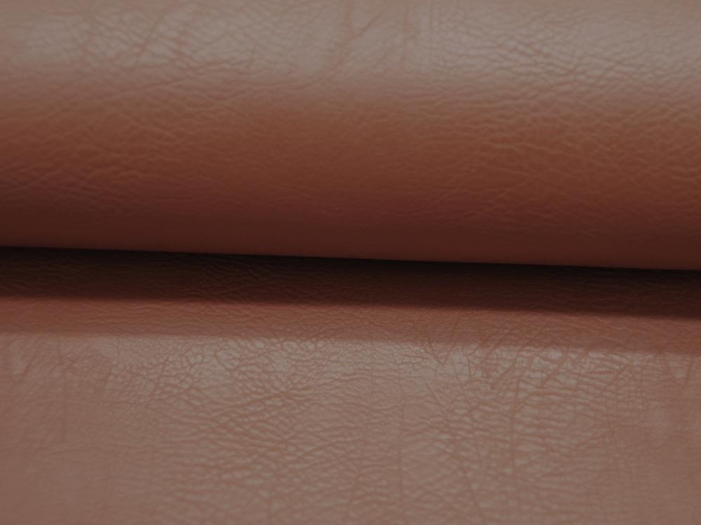 Kunstleder Vintage Leather in Cognac Meter