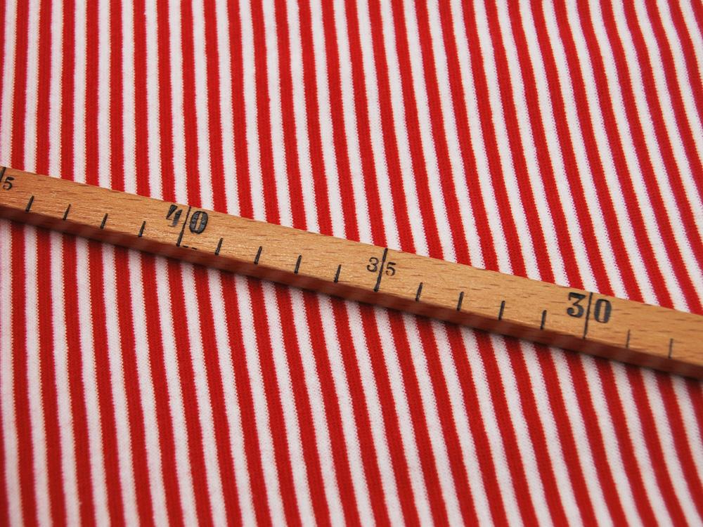 Bündchen Ringelbündchen Rot Weiß cm im