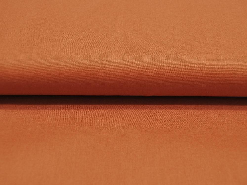 Rost Baumwolle Uni 05 Meter