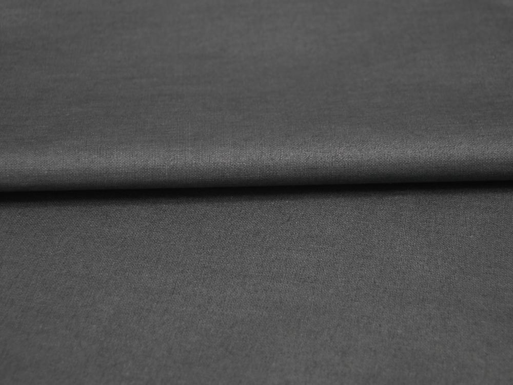 Beschichtete Baumwolle - Anthrazit Uni -
