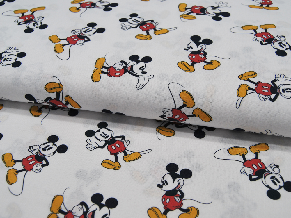 Baumwolle - Mickey Mouse 05m