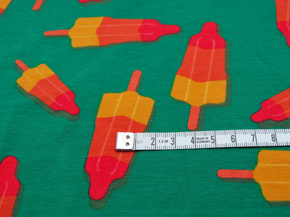 Jersey - Eis am Stiel auf Grün - 0,5m