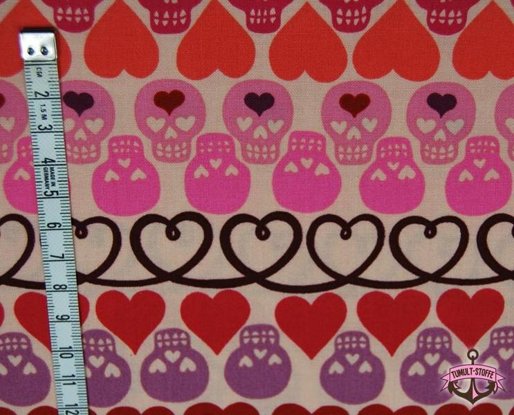 Hearts and Bones - Baumwolle von Henry 0,5 m