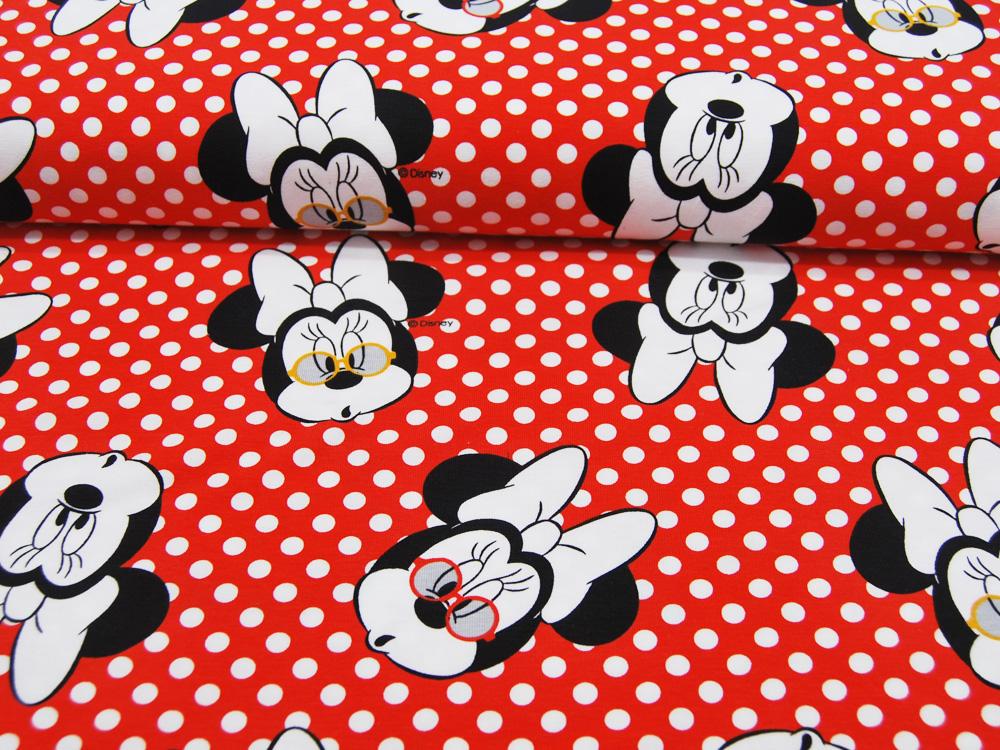 Jersey Lizenz Minnie Mouse auf Rot