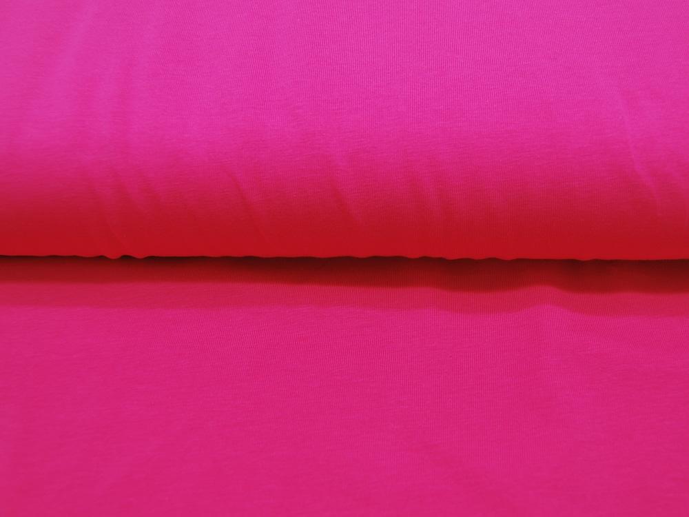 Jersey - GOTS - Uni: Fuchsia