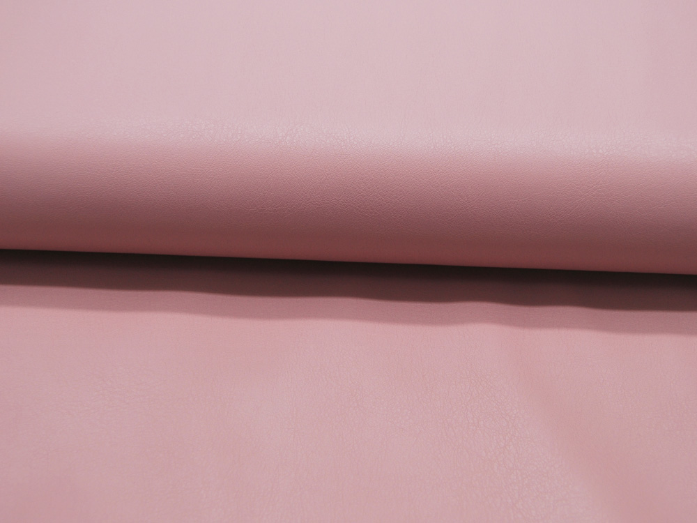Weiches Kunstleder in Dusty Rose Imitation
