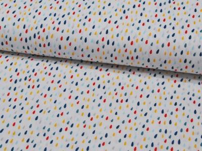 Colorful Drops- Bunte Tropfen auf Weiß