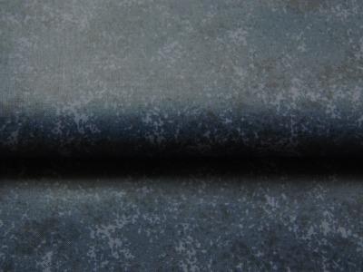Beschichtete Baumwolle - Schwarz-Blaugrau Meliert 50x68 cm