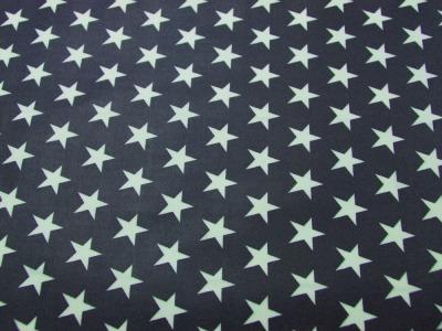 Beschichtete Baumwolle - Sterne auf Nachtblau 50x70 cm